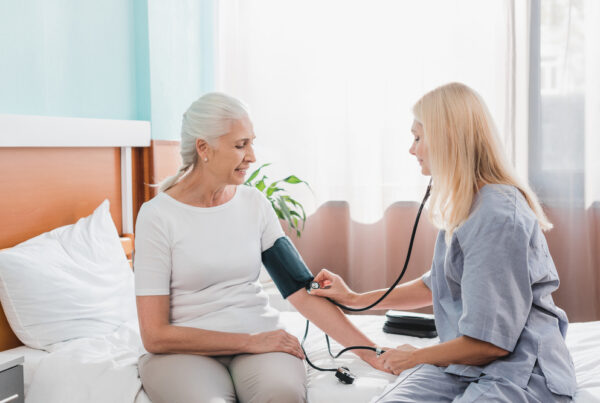 luxury home health care with a private duty nurse